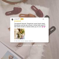What they said about our Home Away Collection ❤️  Swipe left for more... ___ Thank you so much for all the love and support, you guys truly are the best. We love and appreciate every single one of you. Please head on to our Market Place to write us a review! ___ #myVAIA #walkwithVAIA #VAIAlady #genuineleather #localbrand #localbrandid #premiumquality #fashion #style #ootd #shoes #fashionblogger #instafashion #shoestagram #instashoes #bloggerstyle #shoesoftheday #embelishedshoes #styles #shoelover